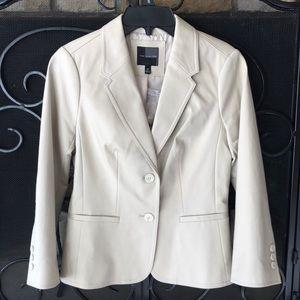 🆕 The Limited 2 Button Jacket Blazer Khaki Sz XS